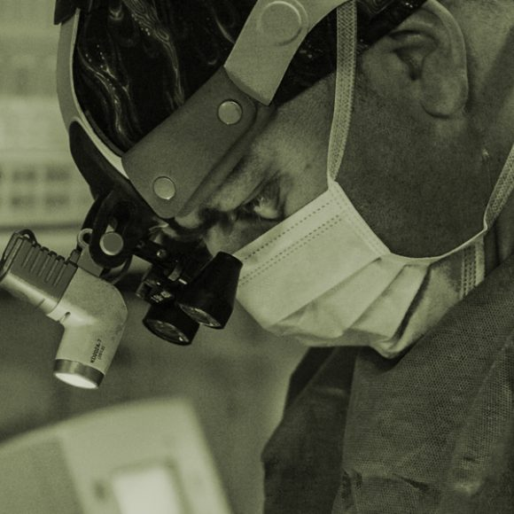 Operacja zamknięcia ubytku przegrody nosa