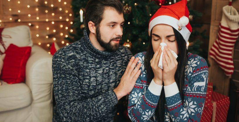 Katar w Wigilię – szybkie sposoby na przeziębienie w Święta